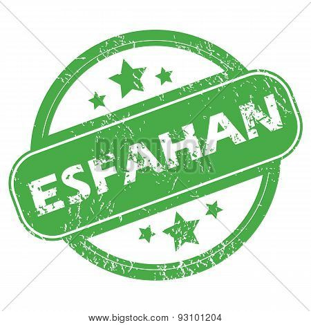 Esfahan green stamp