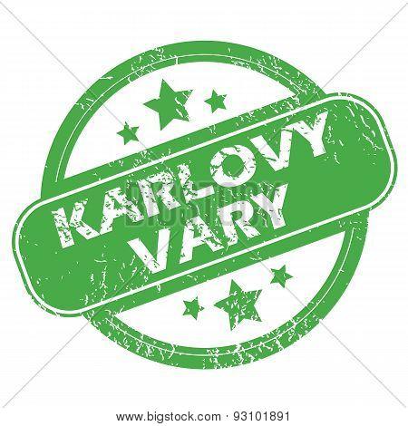 Karlovy Vary green stamp
