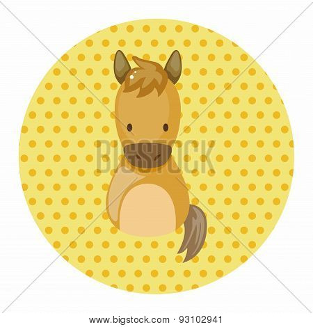 Chinese Zodiac Horse Theme Elements