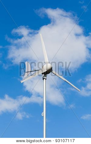 Eco Power, Wind Turbine Generating Electricity