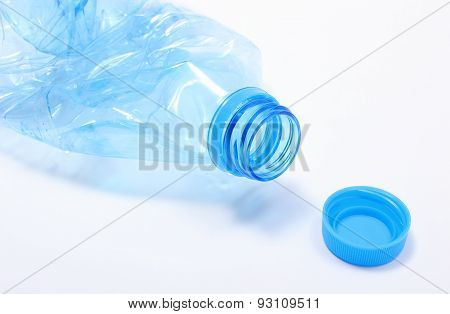 Used Plastic Bottle Of Mineral Water