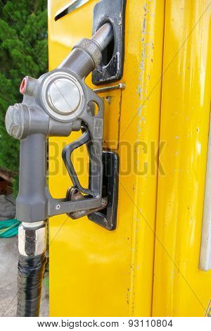 Old Fuel Nozzle Dispenser