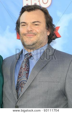 LOS ANGELES - JUN 8:  Jack Black at the HBO's
