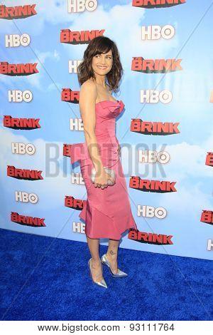 LOS ANGELES - JUN 8:  Carla Gugino at the HBO's