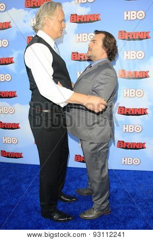 LOS ANGELES - JUN 8:  Tim Robbins, Jack Black at the HBO's