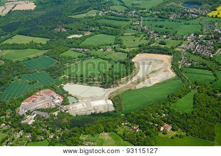 Lime Quarry And Brickworks, Betchworth, Surrey