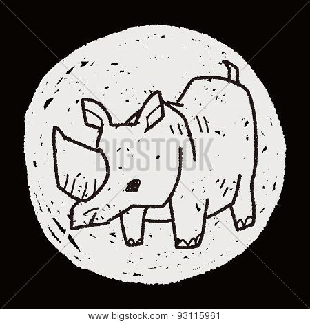 Rhino Doodle