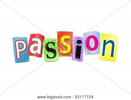 Passion Concept.