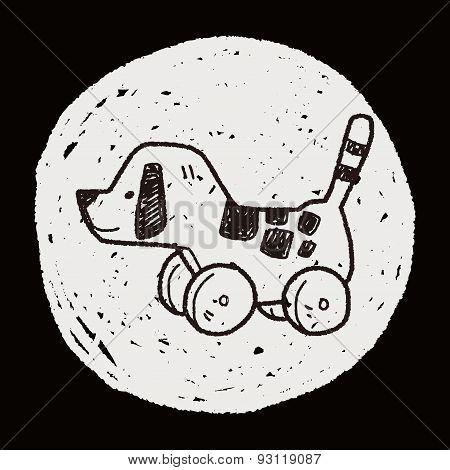 Dog Toy Doodle
