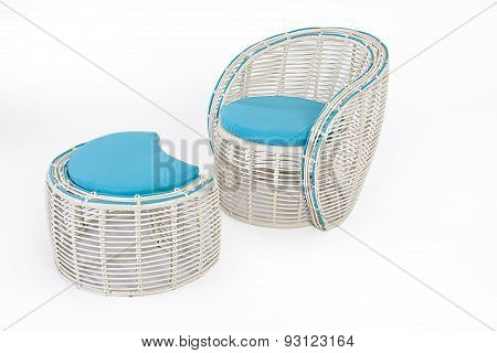 Suite Of Wicker Furniture