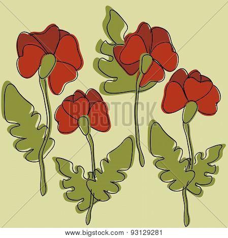 Flower Poppies