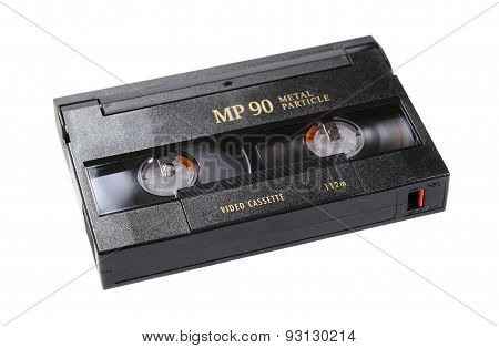 Video Cassette on a white background