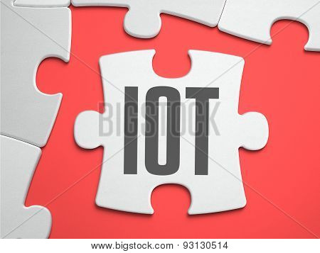 IOT - Puzzle on the Place of Missing Pieces.