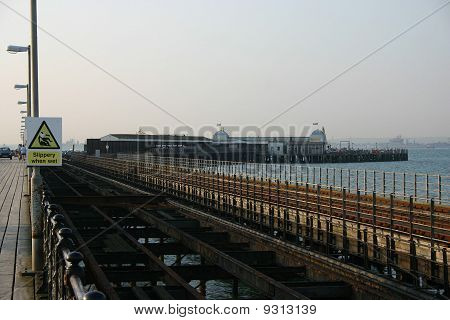 Ryde Pier rail tracks