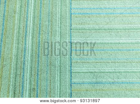 Old Doormat Texture In Green Blue Tone