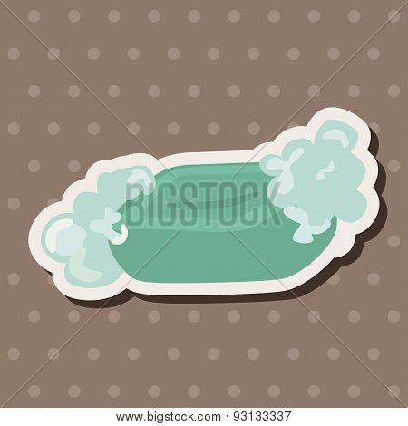 Bathroom Soap Theme Elements