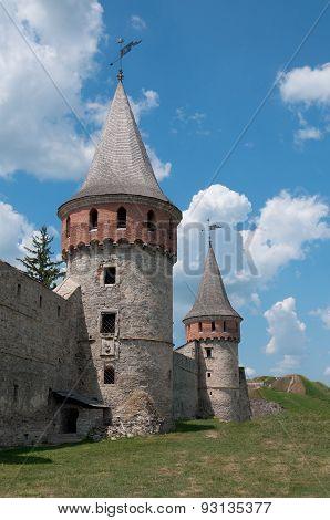 Medieval Castle In Kamenetz-podolsk, Ukraine