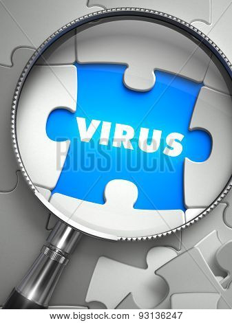 Virus through Lens on Missing Puzzle.