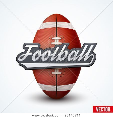 Premium American Football label
