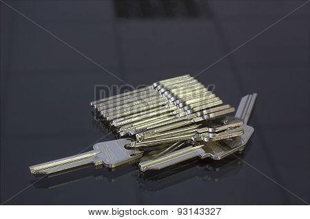 Blank Keys For Cutting