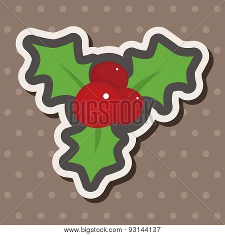 Poinsettia Theme Elements