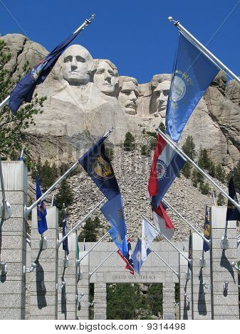 South Dakota - Mount Rushmore Memorial