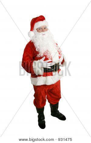 Papai Noel - corpo inteiro isolado