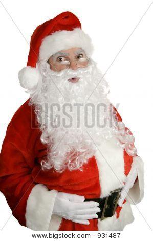 Santa Surprised