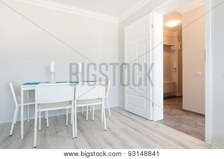 White Furniture And Walls