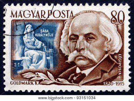 Postage Stamp Hungary 1953 Karl Goldmark, Hungarian Composer