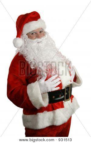 Tradicional Navidad Santa