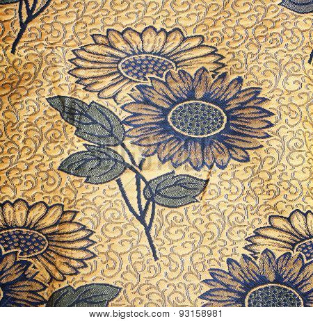 Fabric Floral Background
