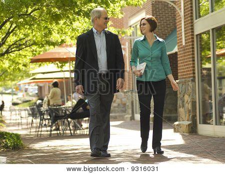 plaza stroll