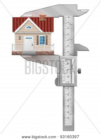 Caliper Measures House