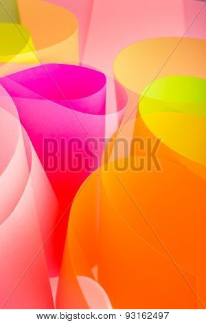 creative color paper background.