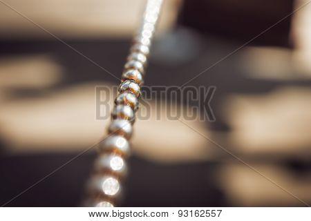 Metalball chain.