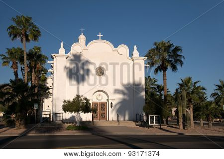 Immaculate Conception Church, Ajo, Arizona, Usa
