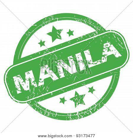 Manila green stamp