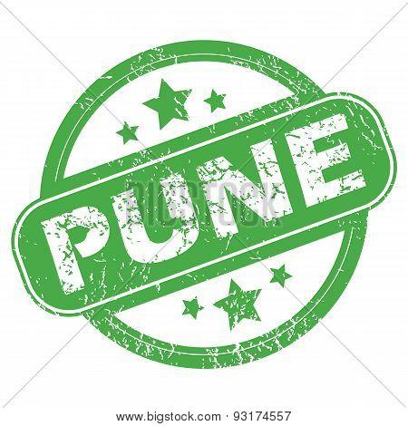 Pune green stamp