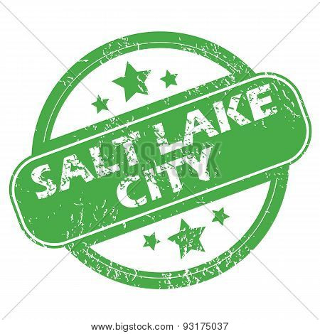 Salt Lake City green stamp