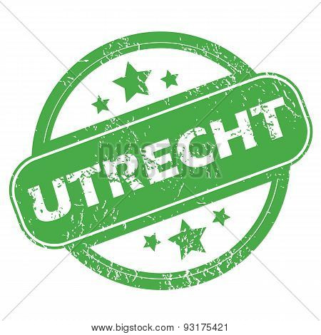 Utrecht green stamp