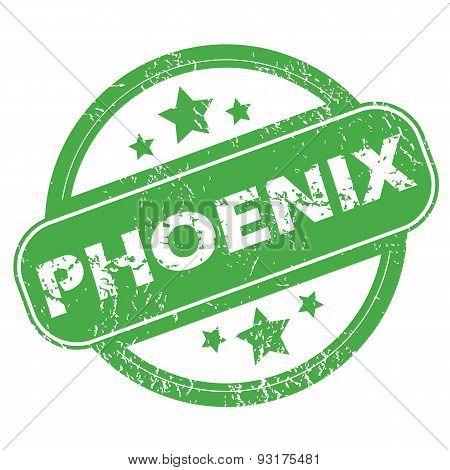 Phoenix green stamp