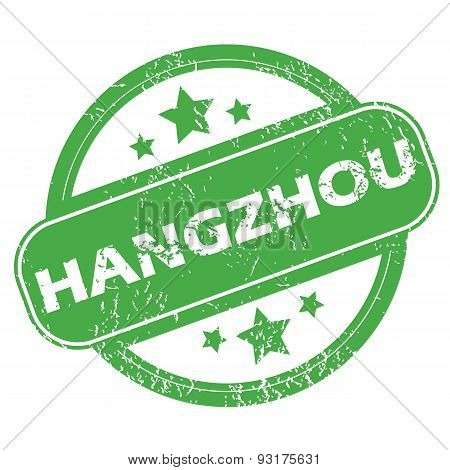 Hangzhou green stamp