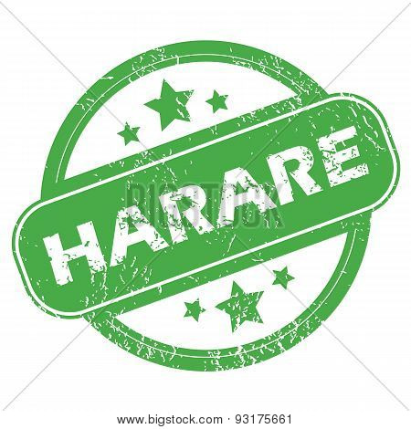 Harare green stamp