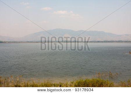 beautiful natural lake