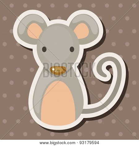 Chinese Zodiac Rat Theme Elements