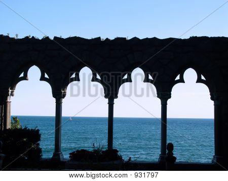 Hammond Castle Arches
