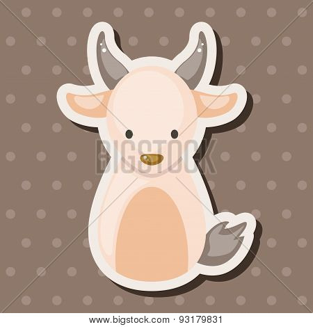 Chinese Zodiac Goat Theme Elements