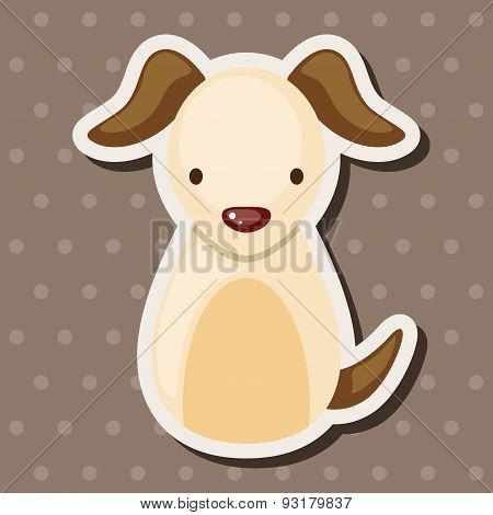 Chinese Zodiac Dog Theme Elements