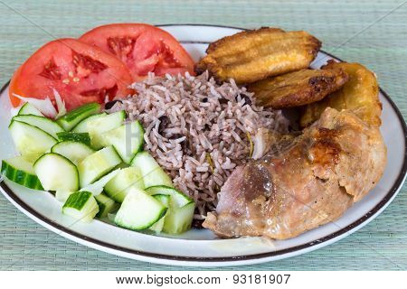 Cuban Cuisine: Traditional Creole Meal